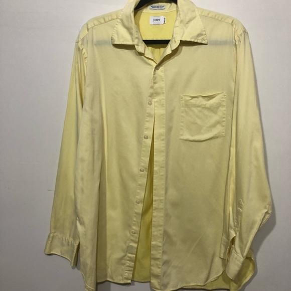 87172c67 J. Crew Shirts | J Crew Yellow Button Up Shirt | Poshmark